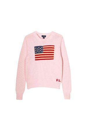 Pink sweater Ralph Lauren kids teen  RALPH LAUREN KIDS | 7 | 311668609003T