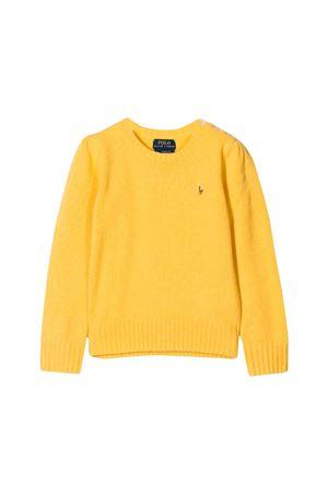 Yellow Ralph Lauren kids teen sweater RALPH LAUREN KIDS | 7 | 311751019001T