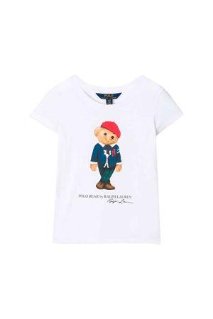 T-shirt bianca bambino Ralph Lauren kids RALPH LAUREN KIDS | 7 | 311759100001