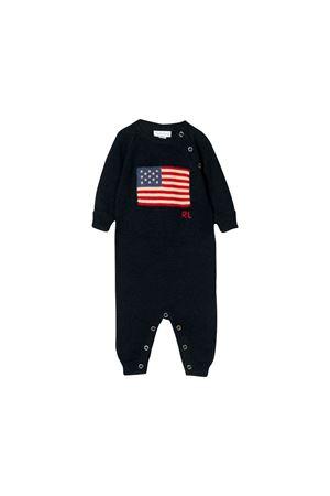 Ralph Lauren blue newborn suit  RALPH LAUREN KIDS | 1491434083 | 320682386001