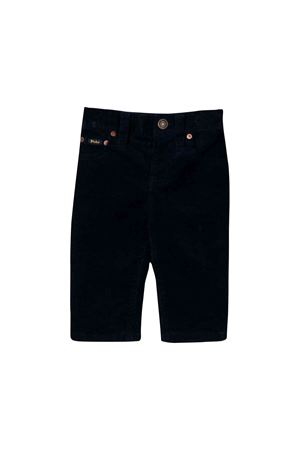 Dark blue newborn trousers Ralph Lauren kids  RALPH LAUREN KIDS | 9 | 320749111001