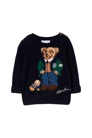 Ralph Lauren kids blue newborn sweater  RALPH LAUREN KIDS | 7 | 320749897001