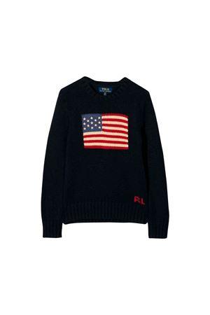 Ralph Lauren kids blue sweater  RALPH LAUREN KIDS | 7 | 321668285001