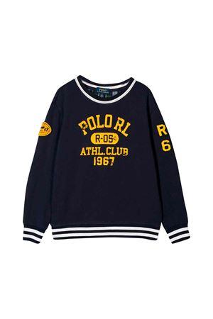 Ralph Lauren kids blue sweatshirt  RALPH LAUREN KIDS | 7 | 321749992001