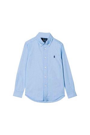 Light blue Ralph Lauren kids teen shirt  RALPH LAUREN KIDS | 5032334 | 321750010001T