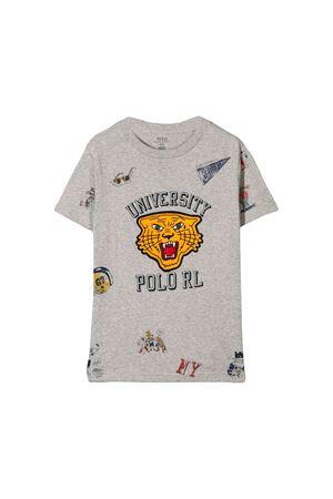 T-shirt grigia bambino Ralph Lauren kids RALPH LAUREN KIDS | 8 | 321750956001