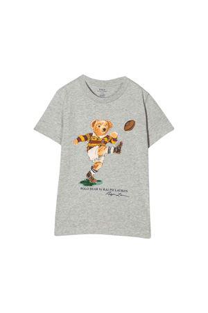 T-shirt grigio chiara bambino Ralph Lauren kids RALPH LAUREN KIDS | 8 | 321755284001
