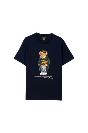 T-shirt blu scuro bambino Ralph Lauren kids RALPH LAUREN KIDS | 8 | 321766619001