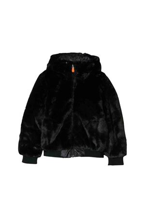 Black reversible lightweight jacket Save the duck kids SAVE THE DUCK | 13 | J3694GFURY900001