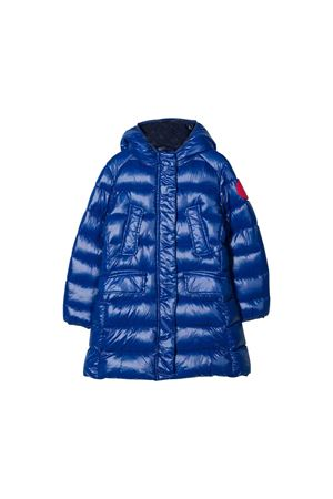 Blue teen lightweight jacket with hood Save the duck kids SAVE THE DUCK | 13 | J4496GLUCK901502T