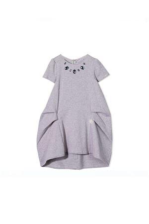 GRAY DRESS SIMONETTA KIDS Simonetta | 11 | 1L1091LD390907