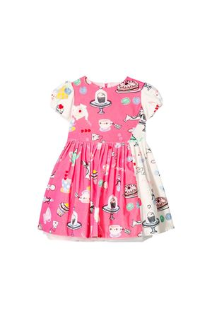 Simonetta kids two-colored dress Simonetta | 11 | 1L1111LC720513