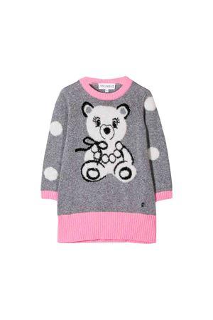 Gray dress Simonetta kids  Simonetta | 11 | 1L1150LD600906