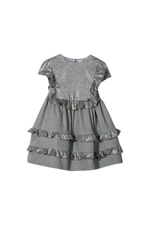 Gray newborn dress Simonetta kids Simonetta | 11 | 1L1441LC050911AG