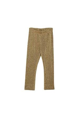 Gold Simonetta kids leggings Simonetta | 411469946 | 1L6241LB510220