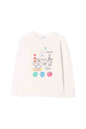White Simonetta kids sweater Simonetta | 8 | 1L8040LB660104