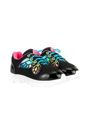 Black sneakers Sophia Webster Mini  SOPHIA WEBSTER MINI | 12 | CHIARASNEAKERBLACK&RAINBOW