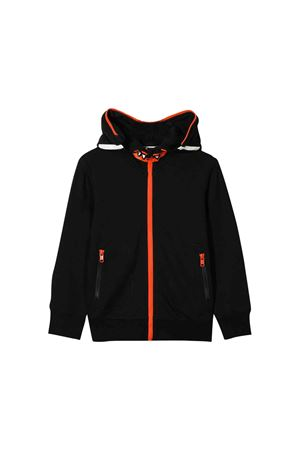 Black teen sweatshirt with hood Stella McCartney kids STELLA MCCARTNEY KIDS | 5032280 | 565789SNJD91073T