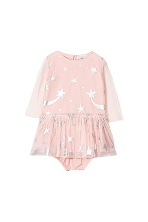 Light pink dress with silver tulle details Stella McCartney kids STELLA MCCARTNEY KIDS | 11 | 566343SNK235773