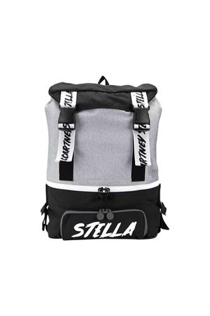 Black and grey backpack Stella McCartney kids STELLA MCCARTNEY KIDS | 279895521 | 566373SNK471464