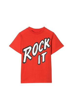 Red t-shirt with frontal press Stella McCartney kids STELLA MCCARTNEY KIDS | 8 | 566407SNJ406564