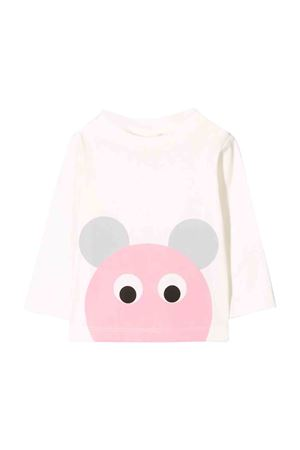 Stella Mccartney Kids white sweater STELLA MCCARTNEY KIDS | 8 | 566785SNJA49232
