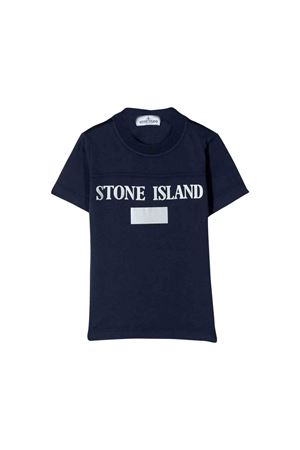 Stone Island junior blue t-shirt  STONE ISLAND JUNIOR | 8 | 711620246V0026