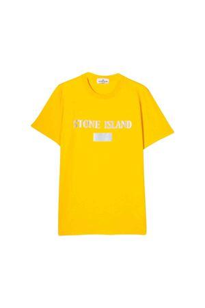 T-shirt gialla Stone Island junior teen STONE ISLAND JUNIOR | 8 | 711620246V0030T