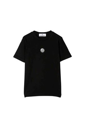 Black Stone Island Junior t-shirt  STONE ISLAND JUNIOR | 8 | 711621053V0029