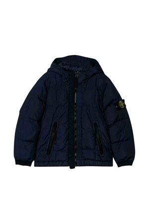 Stone Island Junior blue down jacket  STONE ISLAND JUNIOR | 13 | 711640133V0026