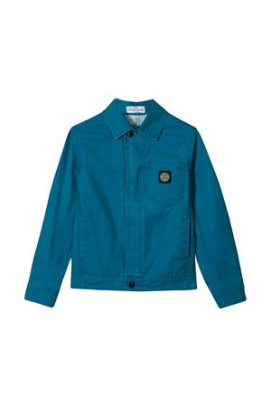 Stone Island Junior teen blue denim jacket  STONE ISLAND JUNIOR | 13 | 711640910V0023T