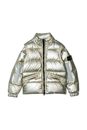 Silver down jacket Stone Island kids  STONE ISLAND JUNIOR | 13 | 711641036V0030
