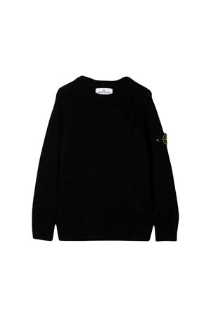 Stone Island Junior black sweater  STONE ISLAND JUNIOR | 7 | 7116506A1V0029