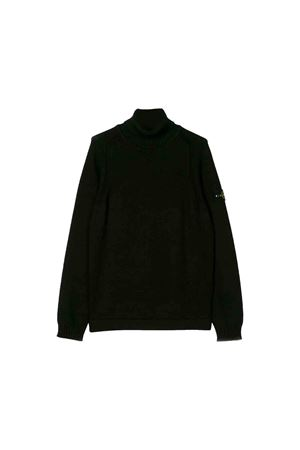 Stone Island Junior teen black turtleneck sweater STONE ISLAND JUNIOR | 7 | 7116520A2V0029T