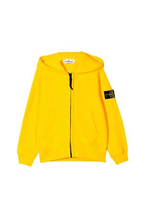 Yellow Stone Island junior sweatshirt STONE ISLAND JUNIOR | -108764232 | 711660640V0030