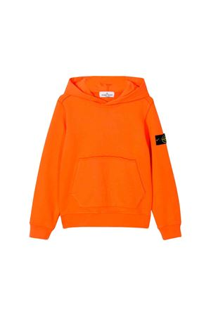Stone Island Junior orange sweatshirt  STONE ISLAND JUNIOR | -108764232 | 711661140V0032