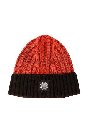 Orange Stone Island Junior cap  STONE ISLAND JUNIOR | 25189572 | 7116N08D8V0032