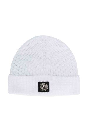 White Stone Island junior cap STONE ISLAND JUNIOR | 25189572 | 7116N11A8V0001