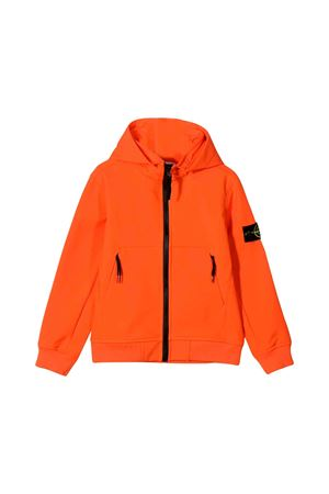 Stone Island Junior orange jacket  STONE ISLAND JUNIOR | -785129502 | 7116Q0230V0032