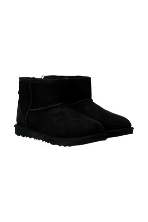 Black UGG kids teen boot  UGG KIDS | 12 | 1017715KBLACKT