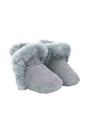 UGG kids gray baby booties  UGG KIDS | 12 | 1103501IGEYSER