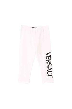 Light pink newborn Young Versace leggins  YOUNG VERSACE | 9 | YA000048YA00019YA092