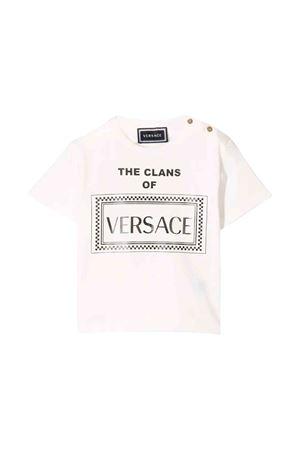 Young Versace newborn white T-shirt  YOUNG VERSACE | 7 | YB000061YA00019YA73B