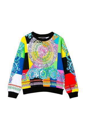 Felpa multicolor Young Versace YOUNG VERSACE | -108764232 | YC000121YA00152YA700