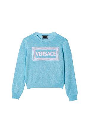 Felpa azzurra bambina Young Versace YOUNG VERSACE | 7 | YC000158YA00242YA114