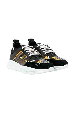 Young Versace black sneakers  YOUNG VERSACE | 12 | YHF00005YB00133YSJJ