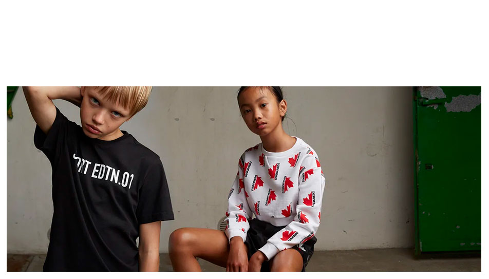 Dsquared2 kids SS20 collection