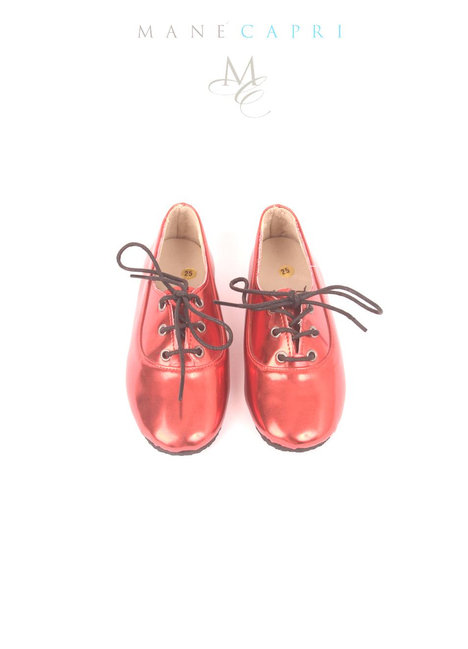 carina 100% originale Acquista autentico Scarpe da bambina rosse in pelle lucida