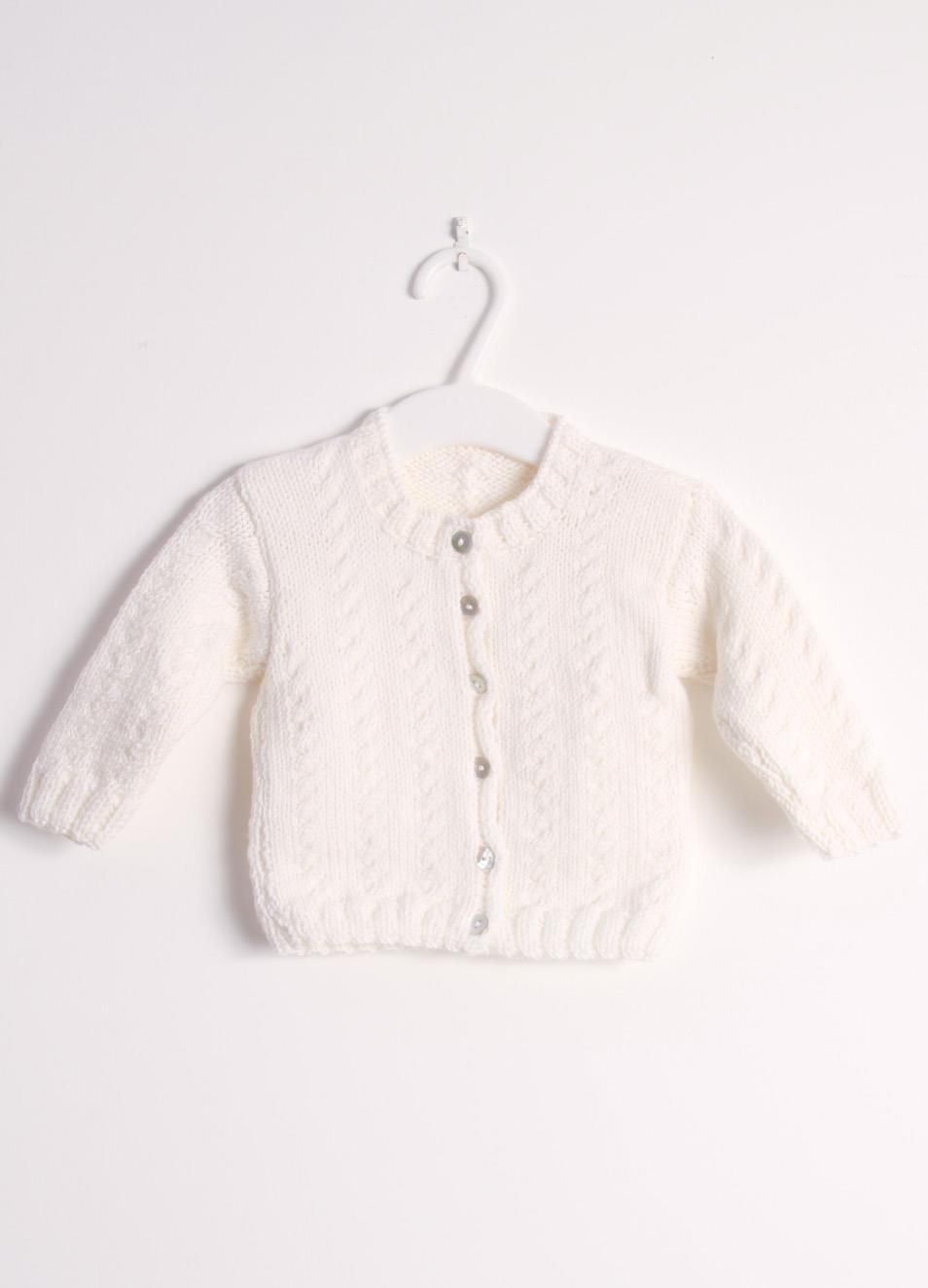 new styles a3dc2 0ae01 Wool cardigan sweater for new born