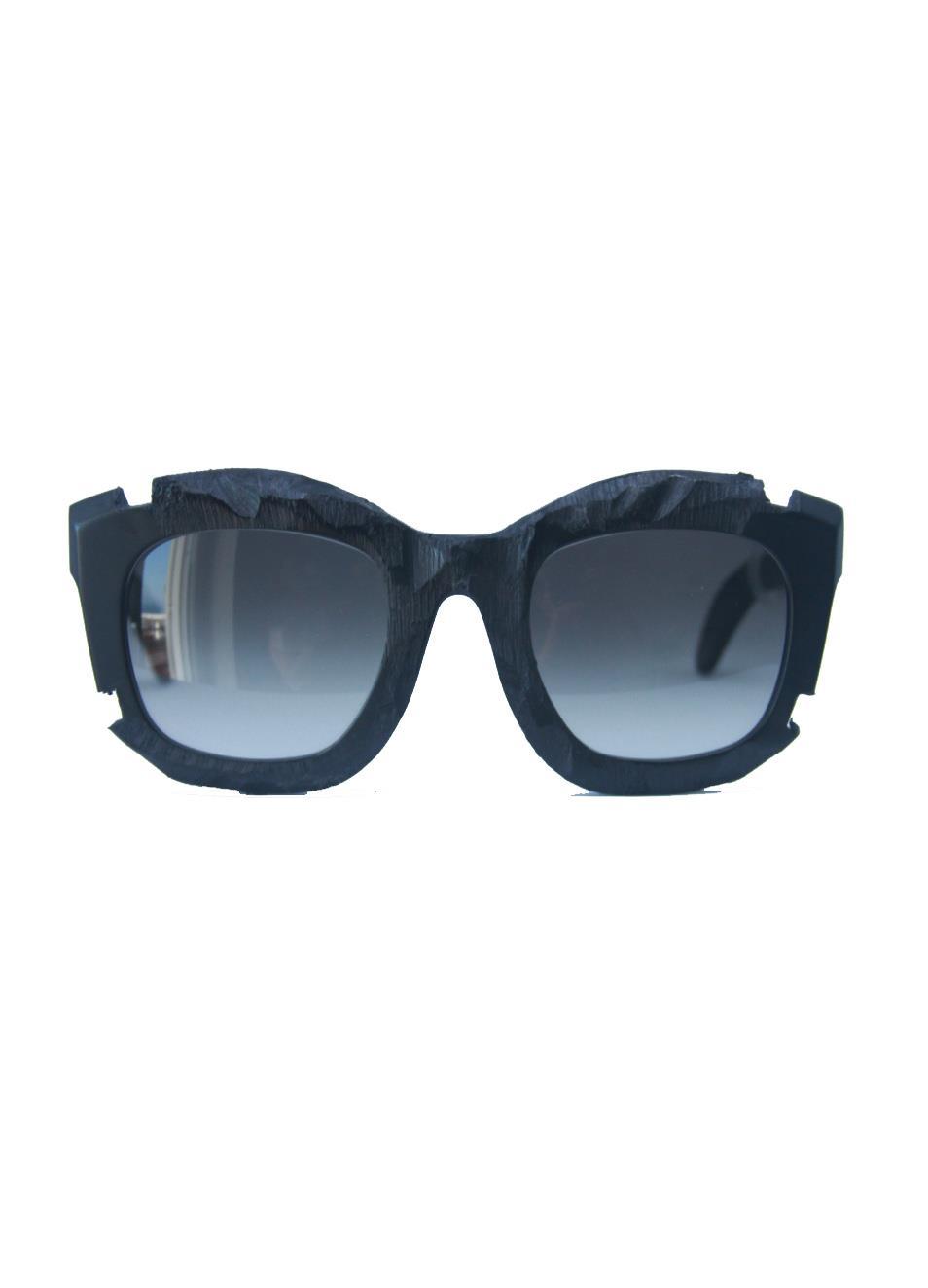 comprare popolare c0e0a 7be0a Kuboraum sunglasses with broken effect frame